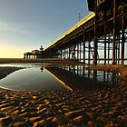 North Pier Reflections by John Hare