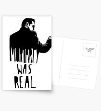 Moriarty Was Real(ly a Print) Postcards
