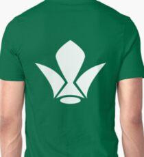 White Iron Fleur de Lis Unisex T-Shirt
