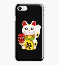 Maneki neko f u iPhone Case/Skin