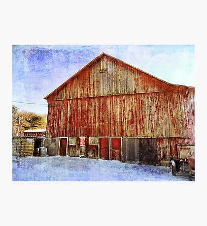 Another barn Photographic Print