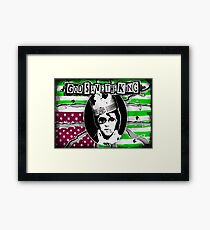 God Save The King Framed Print