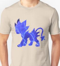 Luxray used discharge T-Shirt