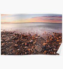 Sunrise Shoreline Poster