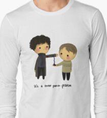 Three-patch problem. Long Sleeve T-Shirt