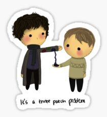 Three-patch problem. Sticker