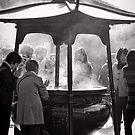 Healed by smoke - Japan by Norman Repacholi