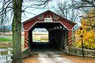 Through The Historic Gottlieb Brown Bridge by Gene Walls