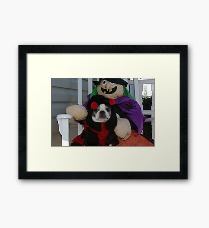 """Yes, I'm having fun.....please, just TAKE THE PICTURE"" Framed Print"