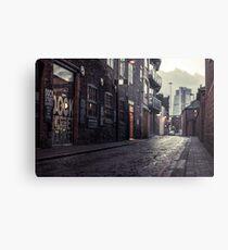 Dock Street Market, Leeds Metal Print