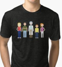 Rick & Morty: The Smith Family Tri-blend T-Shirt