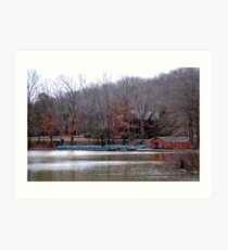 Hungry Mother Boat Ramp Art Print