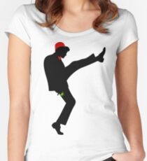 The [11th] Doctor of Silly Walks Women's Fitted Scoop T-Shirt