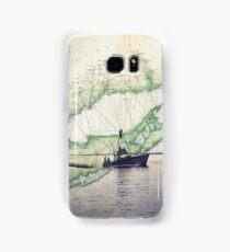 Sport Fishing Boat Samsung Galaxy Case/Skin
