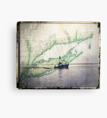 Sport Fishing Boat Metal Print