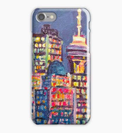 Vancouver Harbour iPhone Case/Skin