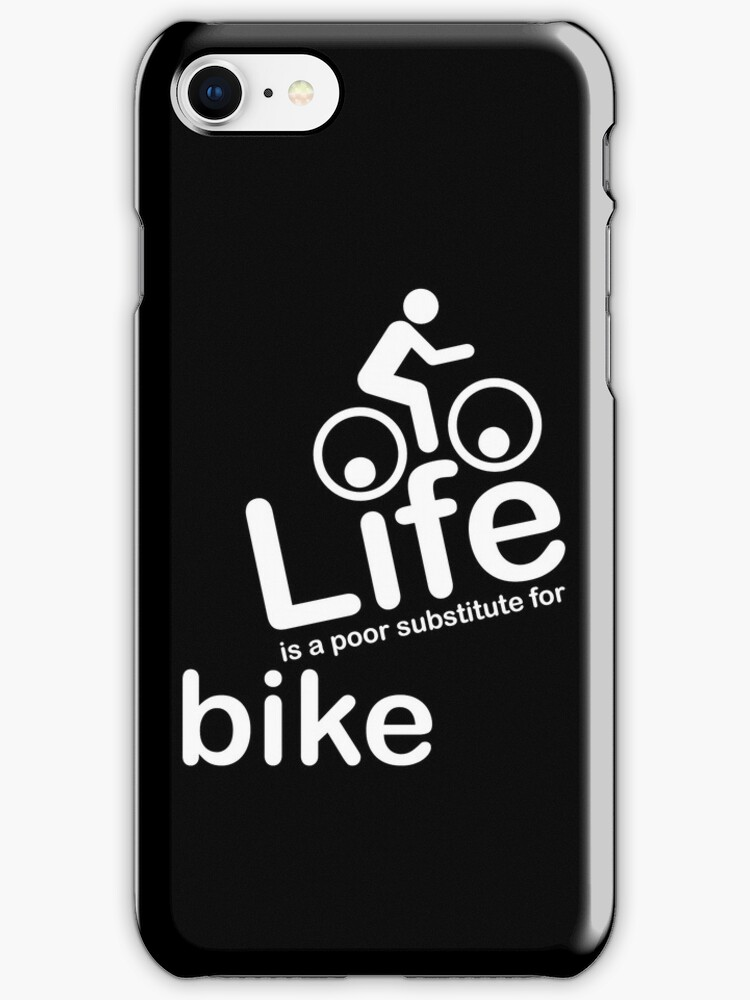 Bike v Life - Black by Ron Marton