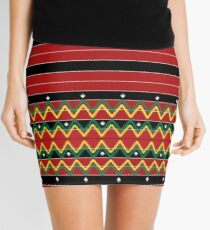 A pattern from the philippines Mini Skirt