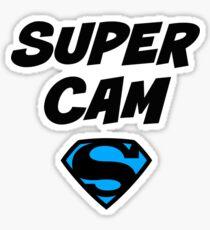 Pegatina Super Cam