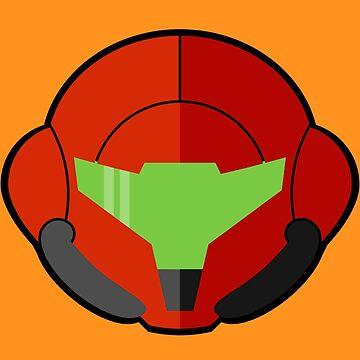 Samus - Metroid by DavidHedgehog