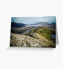 On top of the world by Matt Watson Greeting Card