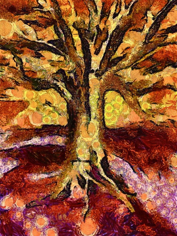 Tree of Van Gogh by sindustry