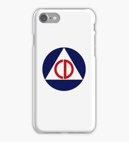 Civil Defense Emblem iPhone Case/Skin