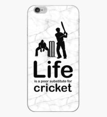 Cricket v Life - Marble iPhone Case