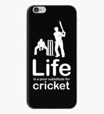 Cricket v Life - Black iPhone Case