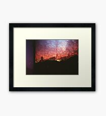 From Dusk Til Dawn Framed Print