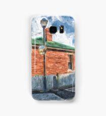 Red Brick House in Hobart Samsung Galaxy Case/Skin