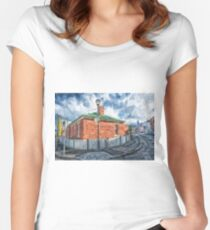 Red Brick House in Hobart Women's Fitted Scoop T-Shirt