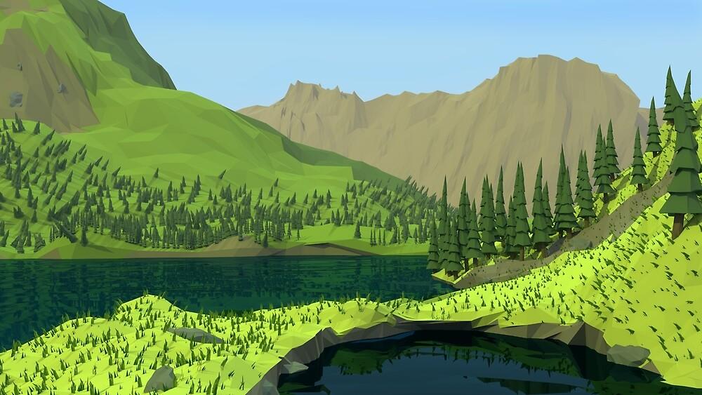 Polygon Hills by jeneau