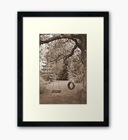 Yesterday Framed Print