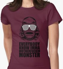 MONSTER Women's Fitted T-Shirt