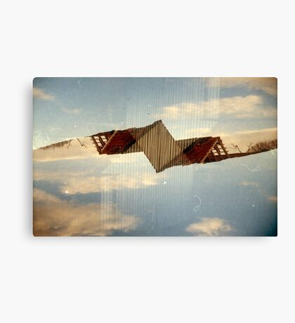 Rip It Up And Start Again Canvas Print