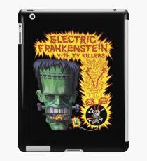 Electric Frankenstein Gig Poster iPad Case/Skin