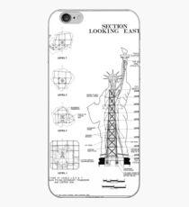 Vinilo o funda para iPhone Estatua de la libertad Esquema estructural