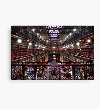 Mortlock Library Canvas Print
