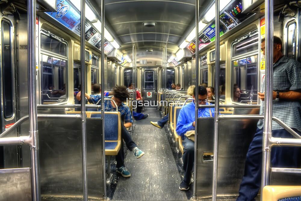 Blue Line to O'Hare by Jigsawman