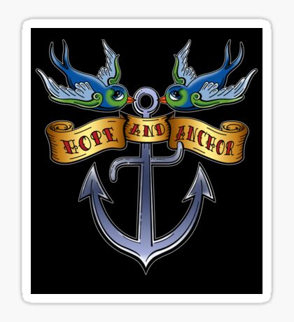 Hope And Anchor (2) Sticker
