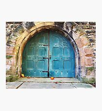 Doors to the James A. Garfield Monument Photographic Print