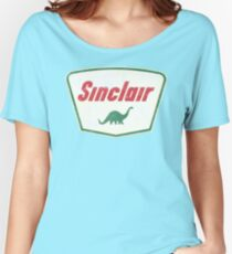 Vintage Sinclair logo Relaxed Fit T-Shirt