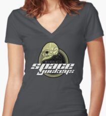 Intergalactic Space Jockeys Women's Fitted V-Neck T-Shirt