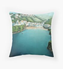Doc Martin country Throw Pillow