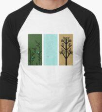 Circuit Trees Men's Baseball ¾ T-Shirt