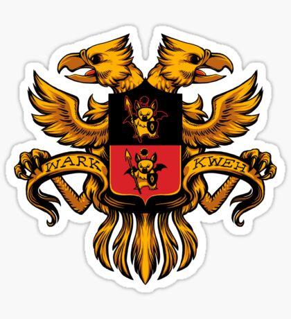 Crest de Chocobo Sticker