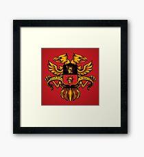 Crest de Chocobo Framed Print