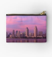 San Diego at Sunset Studio Pouch