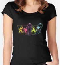 Hero-Sham-Bo Women's Fitted Scoop T-Shirt